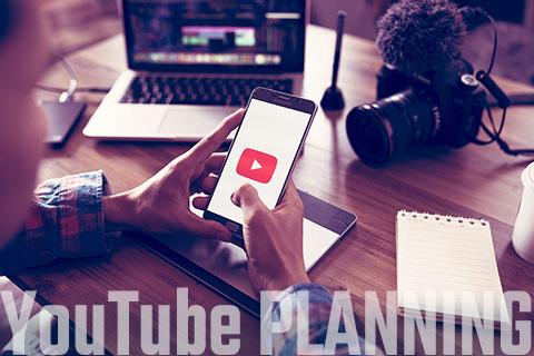 YouTubeチャンネル運営、動画製作
